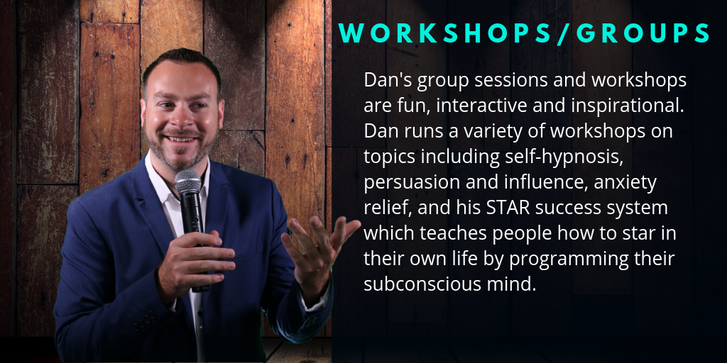Dan Candell Hypnosis | Hypnosis Sessions & Events